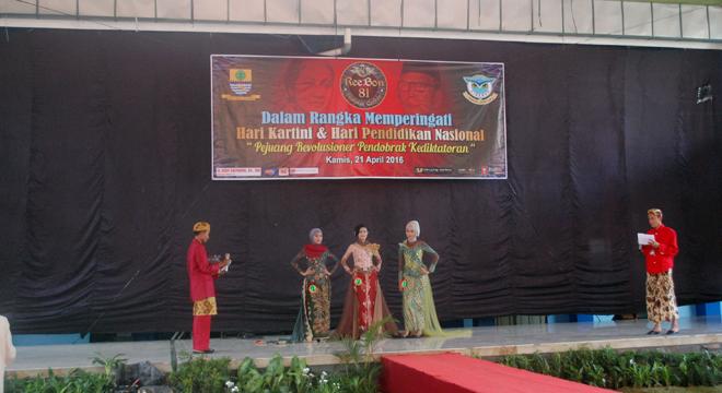 Peringati Hari Kartini, SMA N 1 Kota Cirebon Gelar Pemilihan Putri Smansa