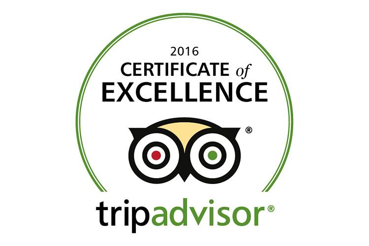 Batiqa Hotel Cirebon Bangga Raih Certificate of Excellence 2016