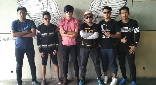 Adipati Band Promo Single Terbarunya di Kota Cirebon