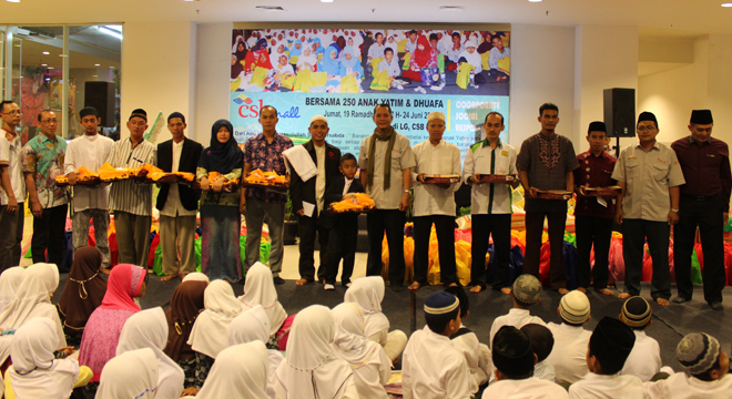 "CSB Mall Gelar Program CSR ""Pesona Ramadhan"""