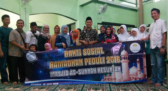 ASPPI dan HIPMI Kota Cirebon Gelar Ramadan Peduli 2016