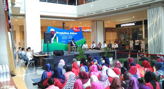 Menyambut Bulan Ramadhan, CSB Mall Gelar Pengajian Akbar
