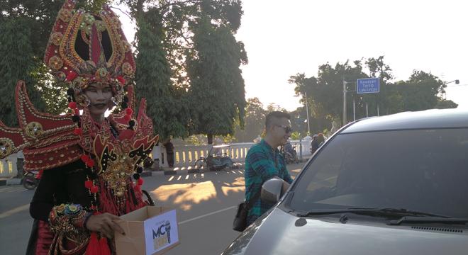 Persatuan Master of Ceremonies Cirebon Gelar Penggalangan Dana