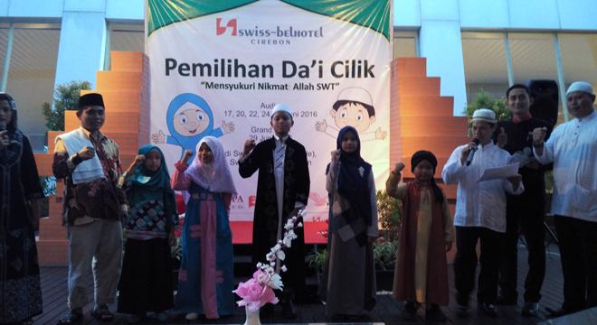 Swiss-Belhotel Cirebon Gelar Pemilihan Da'i Cilik