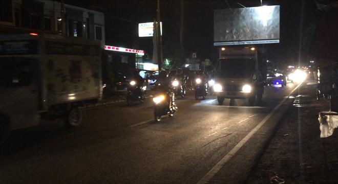 H-6 Lebaran, Jalur Pantura Cirebon Sudah Dipadati Pemudik