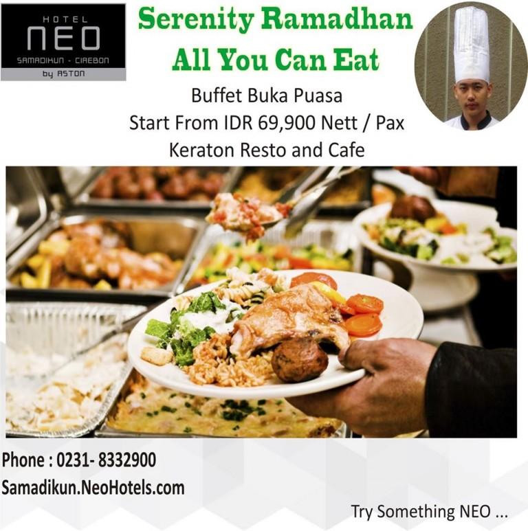 Paket Buka Puasa Serenity Ramadhan di Hotel Neo Samadikun Cirebon