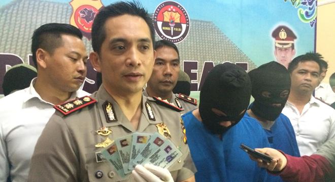 Polres Cirebon Kota Tangkap Pemalsu KTP dan KK