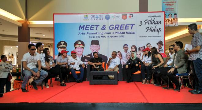 Walikota Cirebon, Film 3 Pilihan Hidup Sarat Akan Edukasi Bahaya Narkoba