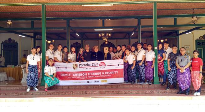 Prosche Club Indonesia Kunjungi Cirebon