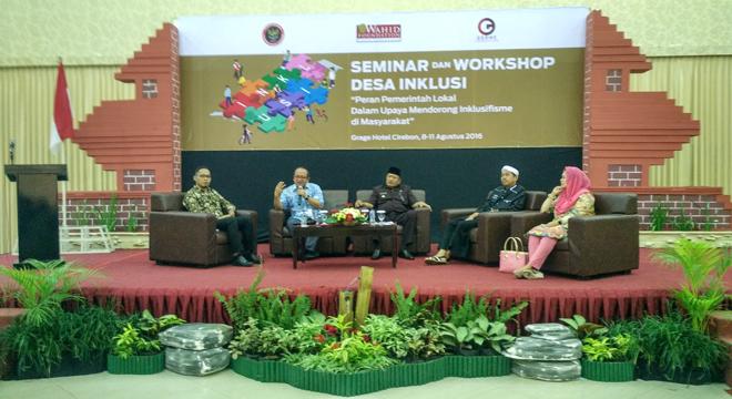 Dialog Publik dan Workshop Desa Inklusi di Grage Hotel Cirebon