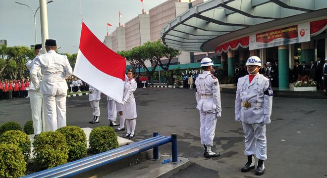 Peringati 17 Agustus, Grage Group Gelar Upacara Bendera
