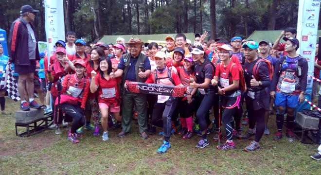Ratusan Peserta Ramaikan Ciremai Trail Run 2016