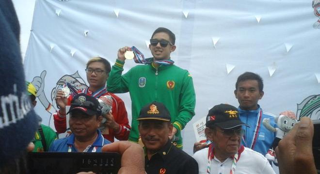 Jawa Timur Raih Emas di Pertandingan Selam Laut Fins Swimming 10.000 M