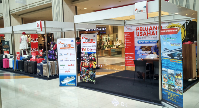 CSB Mall Gelar Travel Fair Expo 2016