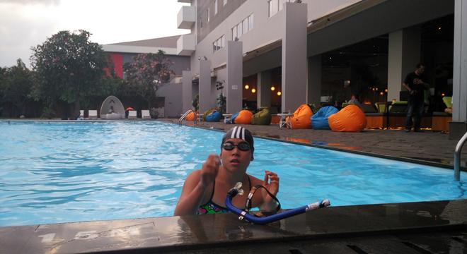 Atlet Selam Kolam Margaretha Herawati Siap Ramaikan PON Jawa Barat XIX