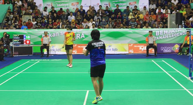Bulutangkis Tunggal Putri Jabar Akan Bertemu DKI Jakarta di Final