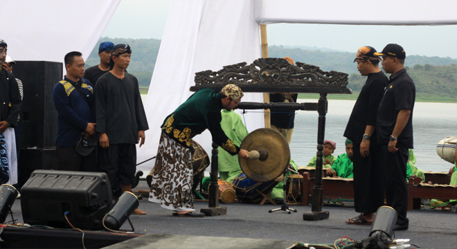 Jagakali Art Festival 5 Digelar di Danau Setu Patok