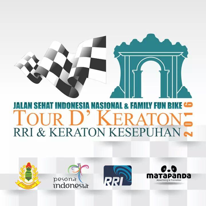 LPP RRI Cirebon Gelar Jalan Sehat dan Family Fun Bike D'Keraton