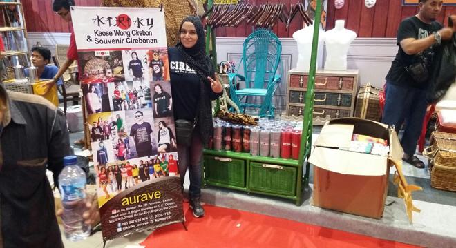 Produk Asal Kota Cirebon Nampang di Internasional Trade Expo Indonesia