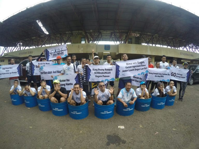 Komunitas Cirebon Runners : Yuk Jaga Kebersihan di Kawasan Bima