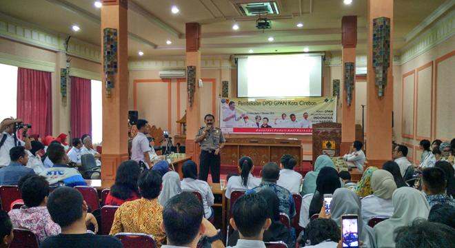 GPAN Gelar Pembekalan Anti Narkoba di Kota Cirebon