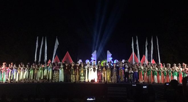 Pagelaran Sendragentala Lestarikan Budaya dan Sejarah Cirebon