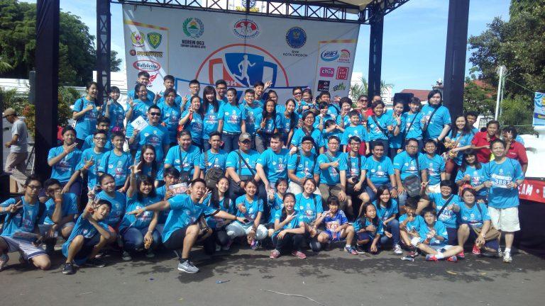 Bebaskan Diri dari Narkoba, Run For Your Future di Cirebon Berlangsung Sukses