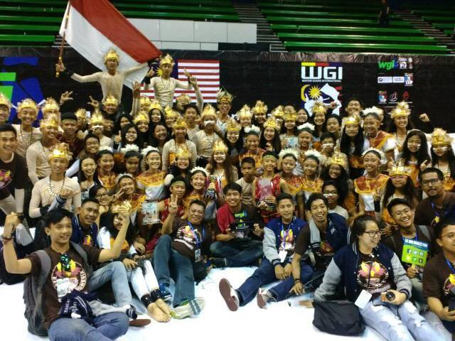 Hebat! Marching Band Santa Maria Cirebon Juara I di Malaysia