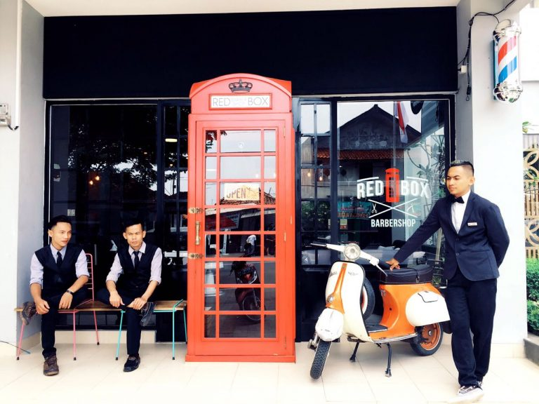 Manjakan Pelanggan, Redbox Barbershop Buka Cabang Kedua