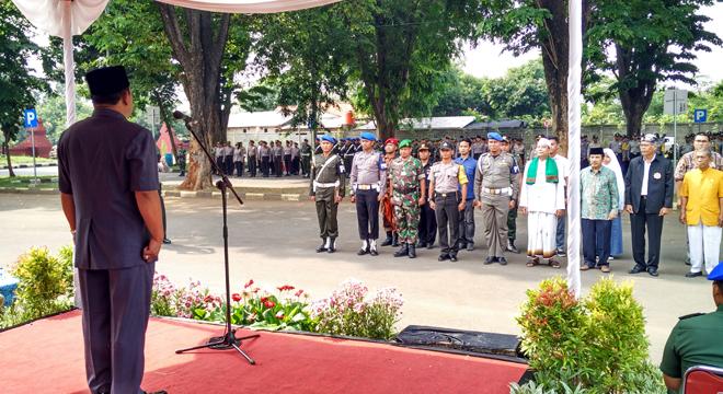 Polres Cirebon Kota Gelar Apel Kebhinnekaan Cinta Damai
