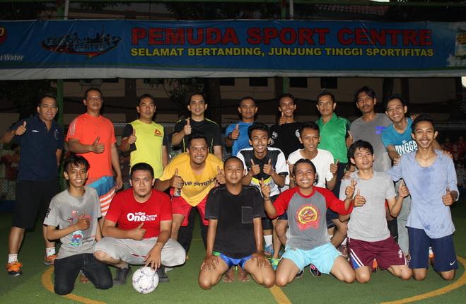 Jalin Silaturahmi, Polres Cirebon Kota Gelar Futsal Bersama Jurnalis Cirebon