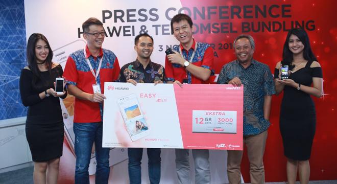 Huawei Lanjutkan Kemitraan dengan Telkomsel melalui Paket Y3 II LTE dan Paket Y6 II LTE