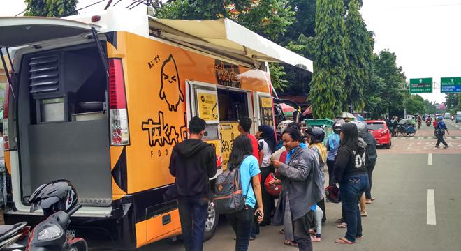 Taka don Food Truck Hadir Pertama di Kota Cirebon