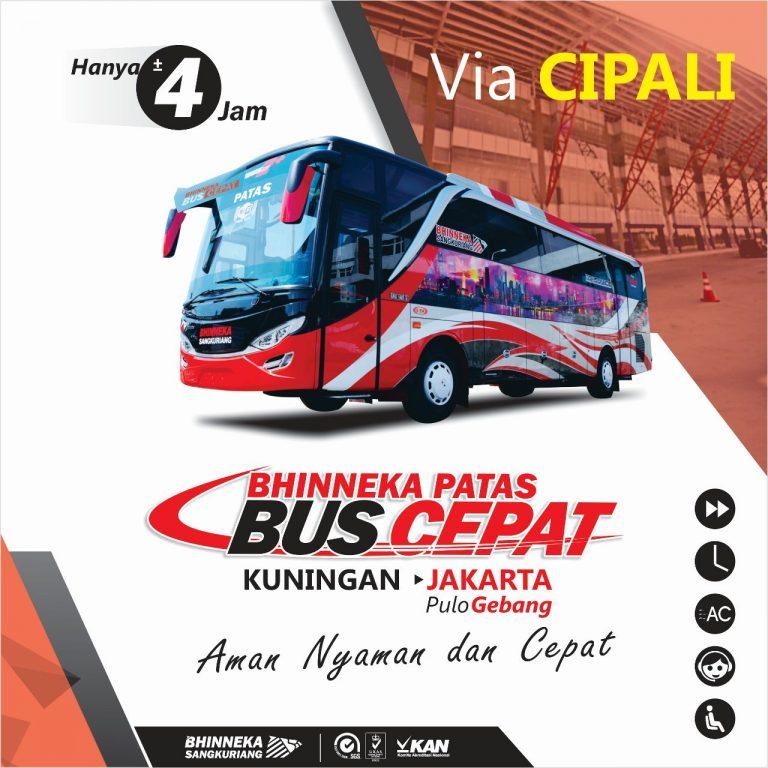 Bhinneka Luncurkan Bus Cepat Kuningan – Jakarta via Cipali
