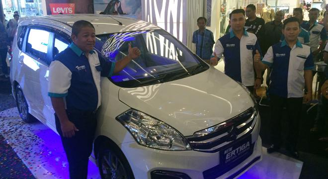 Suzuki PT. CDPB Cirebon Luncurkan New Ertiga Diesel Hybrid