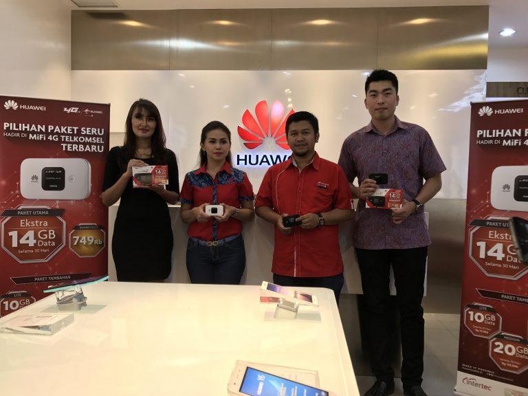Huawei dan Telkomsel Berkolaborasi Hadirkan Konektifitas Internet 4G LTE yang Cepat dan Mudah