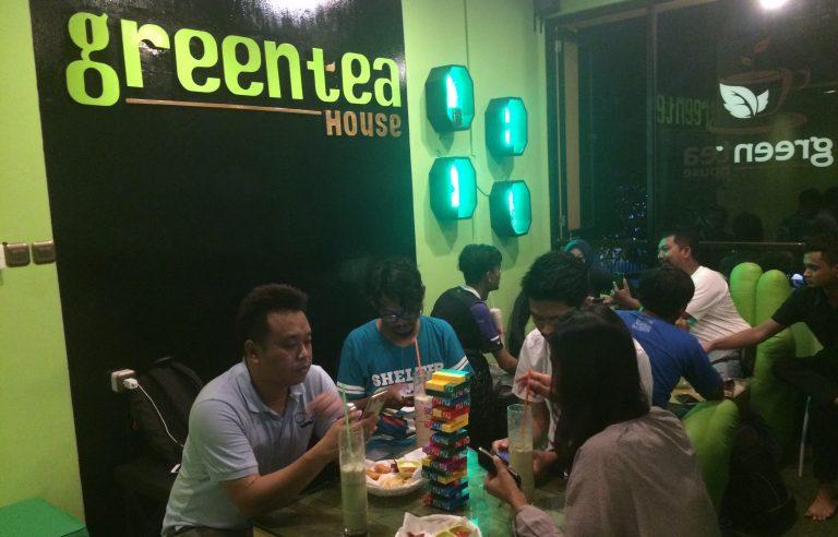 Green Tea House Cafe Hadir dengan Konsep Homie
