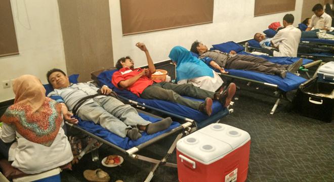Donor Darah Aston Cirebon Alami Peningkatan