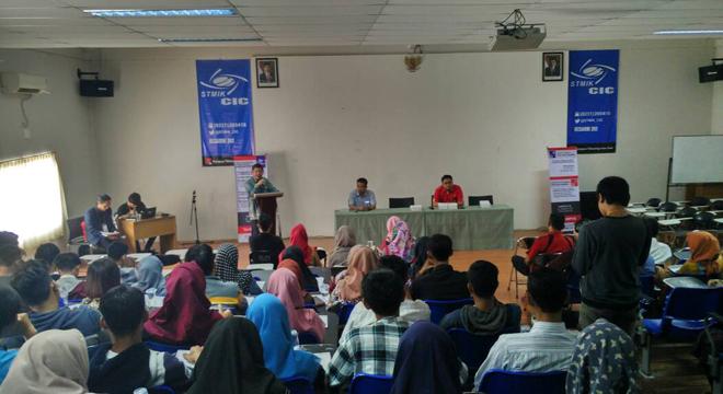 STMIK CIC Gelar Seminar dan Sentra Karir