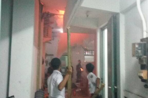 Kantor Pusat Pengendalian Operasional Kereta Daop 3 Cirebon Terbakar
