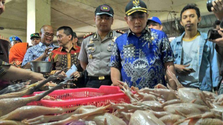 Jelang Ramadan, Walikota Cirebon Sidak Pasar Tradisional