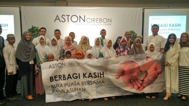 Aston Cirebon Gelar Buka Puasa Bersama Anak-anak Panti Asuhan
