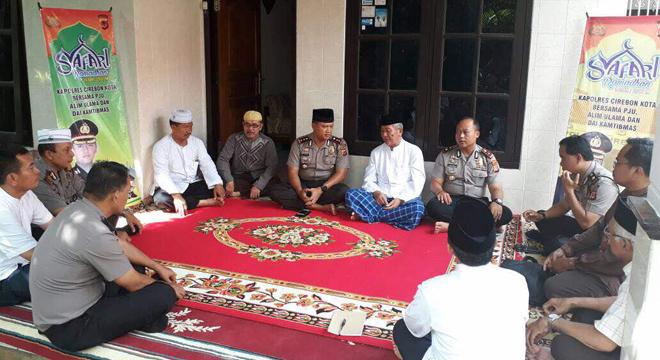 Polres Cirebon Kota Gelar Safari Ramadan