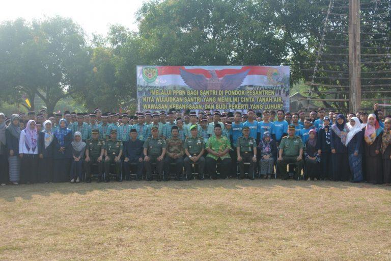 Komandan Korem 063/SGJ Membuka Kegiatan Pendidikan Pendahuluan Bela Negara