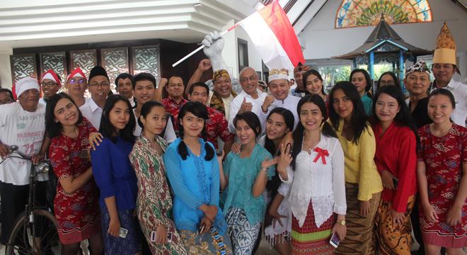 Hotel Santika Cirebon Hadirkan Suasana Kemerdekaan RI