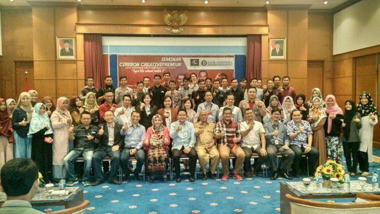 Cirebon Creative dan Bank Indonesia Gelar Seminar Cirebon Creativepreneur
