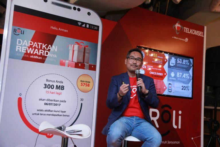 Telkomsel Hadirkan Aplikasi ROLi untuk Android