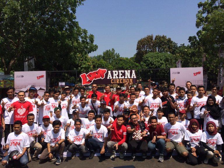 Wadahi Hobi dan Kreativitas Anak Muda Cirebon, Telkomsel Hadirkan Loop Arena