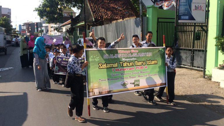 Sambut Tahun Baru Islam, SD Al-Irsyad Kota Cirebon Gelar Tausiyah, Tarhib dan Market Day