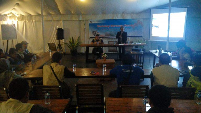 BPS Kota Cirebon Berikan Materi Workshop Wartawan Ekonomi